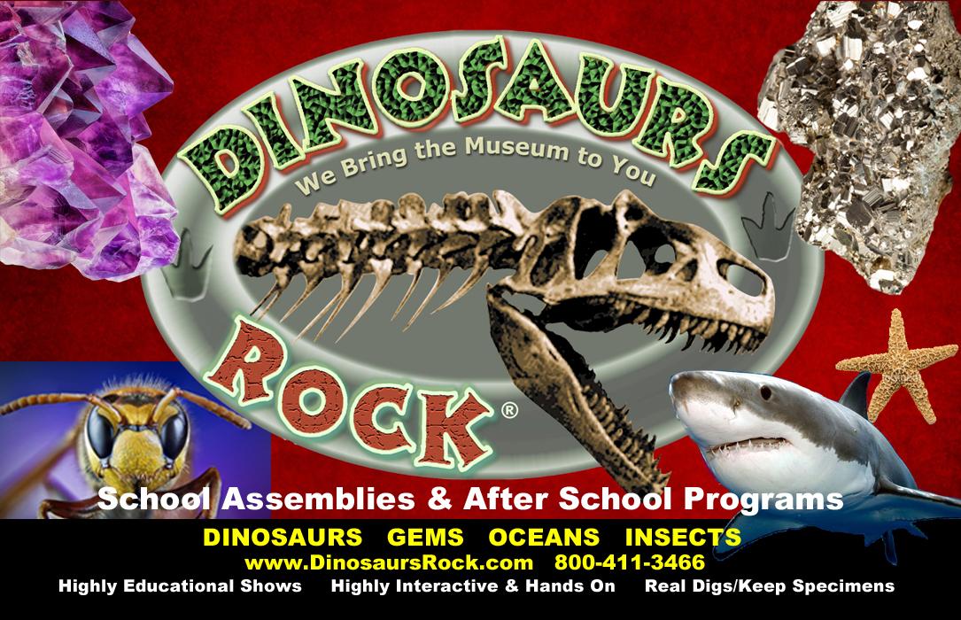 DINOSAURS ROCK PROGRAMS Dinosaurs Rock Programs
