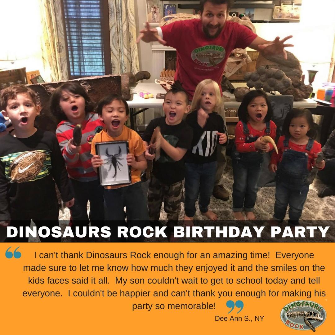 Jurassic Dinosaur Birthday Parties Gem Mining Party Ocean